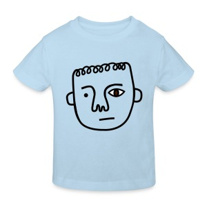Uneven Stephen (3 colors) - Kids' Organic T-shirt