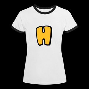 Alphabet H - Women's Ringer T-Shirt