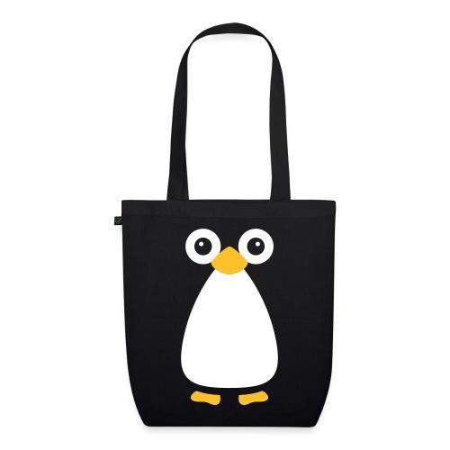 Cute Vector Penguin Organic Tote Bag - EarthPositive Tote Bag