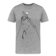 T-Shirts ~ Men's Premium T-Shirt ~ Rattlin Bone Men's Tee 4