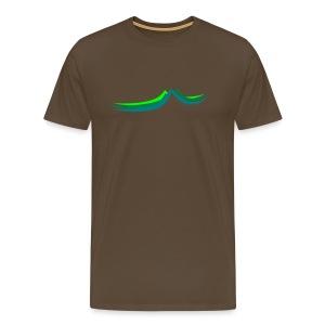 Mountain View - Männer Premium T-Shirt