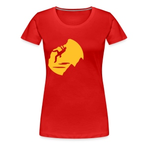 Sundown Bouldering - Frauen Premium T-Shirt