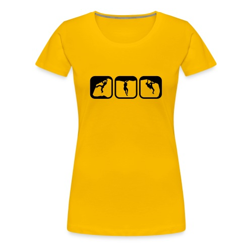 Boulder Icons - Frauen Premium T-Shirt