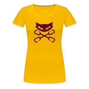 Climbing Kitty - Frauen Premium T-Shirt