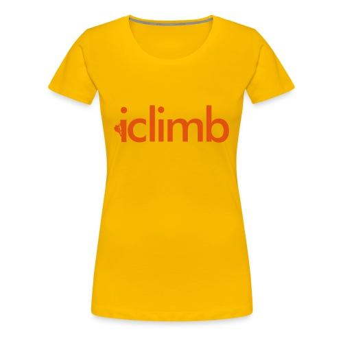 iClimb - Frauen Premium T-Shirt