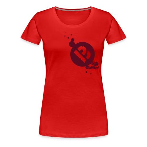 B wie Bouldern - Frauen Premium T-Shirt