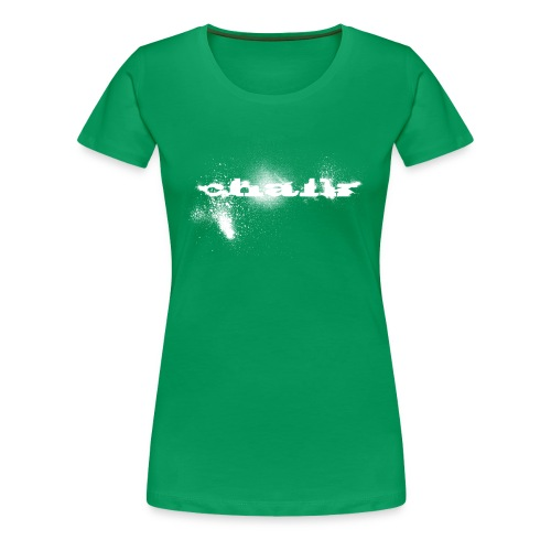 Chalk for Girls - Frauen Premium T-Shirt