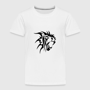 lion tribal tatouage dessin 14028 Tee shirts - T-shirt Premium Enfant