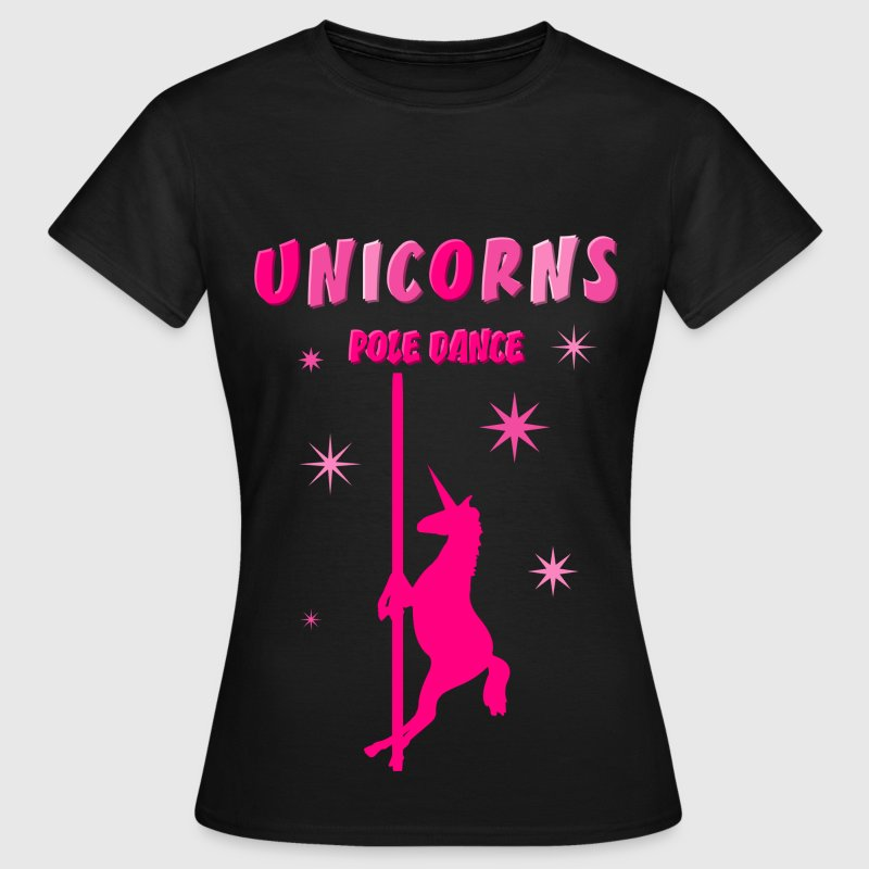 UNICORNS POLE DANCE Tee shirts - T-shirt Femme