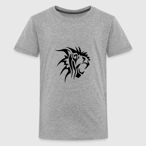 lion tribal tatouage dessin 14028 Tee shirts - T-shirt Premium Ado