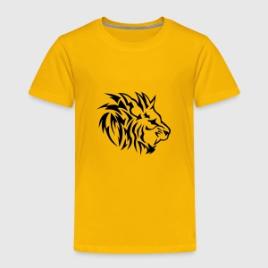 lion tribal tatouage dessin 14022 Tee shirts - T-shirt Premium Enfant