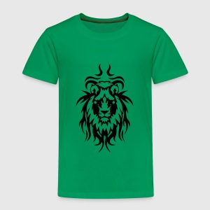 lion tatouage tribal animal sauvage Tee shirts - T-shirt Premium Enfant