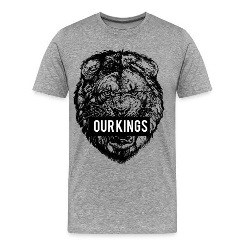 Our Kings - Lion - T-shirt Premium Homme