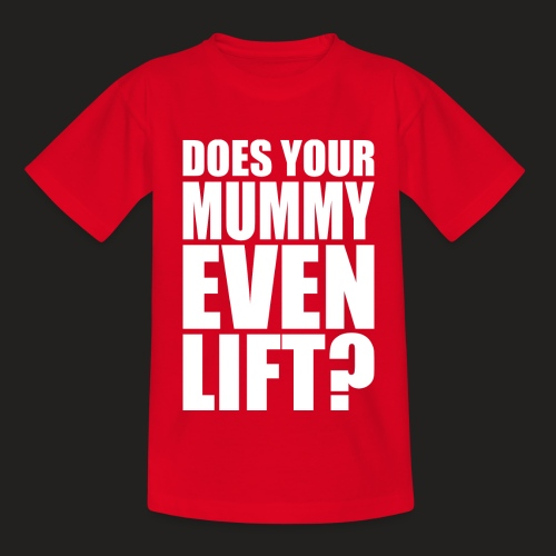 Kids' T-Shirt - weightlifting,strongwomen,strongmen,strongman,strong,steroids,squat,powerlifting,powerlifters,muscle,lifting,lift,gymwear,gym,getbig,gainz,gains,deadlift,crossfit,bodybuilding,bodybuilders,benchpress,beard