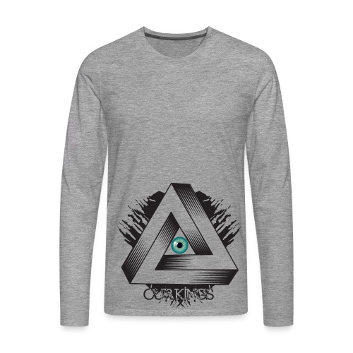 Our Kings - Eyes - T-shirt manches longues Premium Homme
