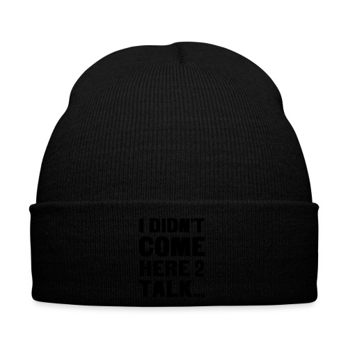 no talk - Winter Hat