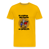 Tee shirts ~ T-shirt Premium Homme ~ T-SHIRT premium homme banquier