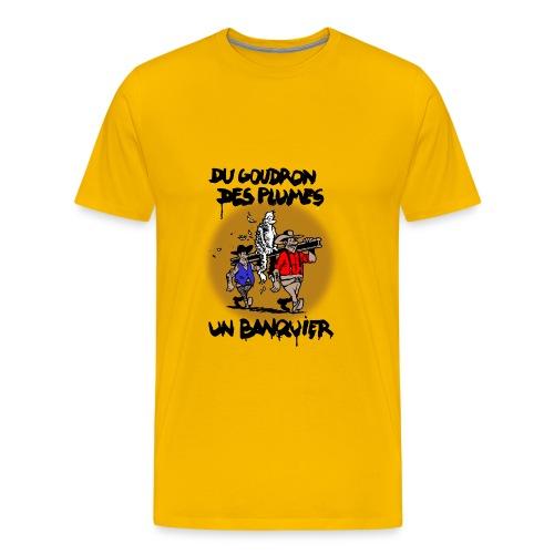 T-SHIRT premium homme banquier - T-shirt Premium Homme