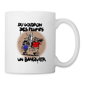 MUG banquier - Mug blanc