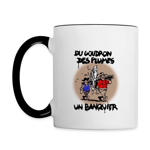 MUB BICOLORE banquier - Mug contrasté