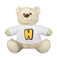 Teddy Bear Toys ~ Teddy Bear ~ Alphabet H