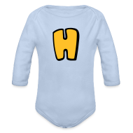Baby Bodysuits ~ Baby One-piece ~ Alphabet H