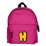 Bags & Backpacks ~ Kids' Backpack ~ Alphabet H
