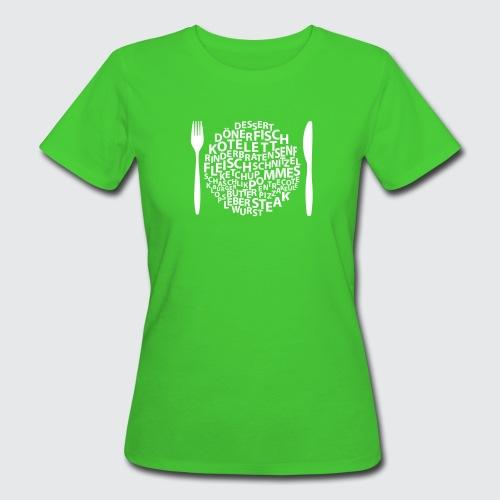 futtern - Frauen Bio-T-Shirt