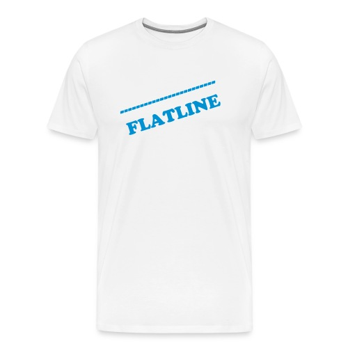 Flatline sliding - Men's Premium T-Shirt