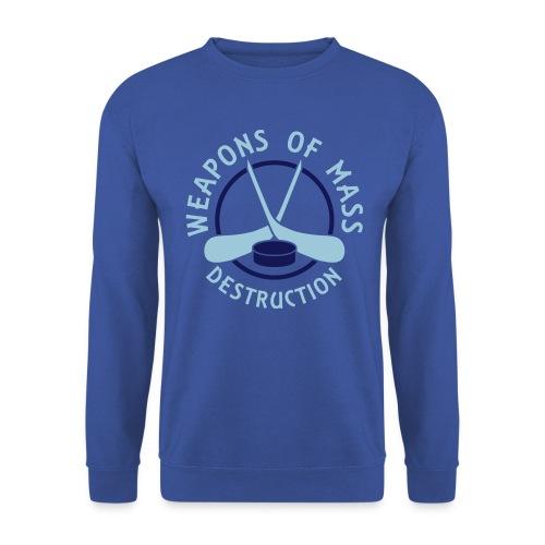 Hockey Weapons of Mass Destruction Men's Sweatshirt - Men's Sweatshirt