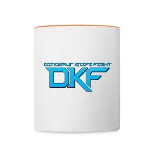 DKF Logo Mug - Contrasting Mug