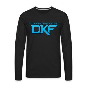 DKF Men's Logo Long Sleeve - Men's Premium Longsleeve Shirt