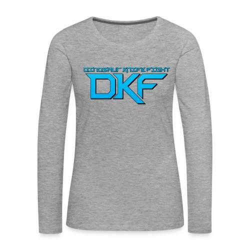 DKF Women's Logo Long Sleeve - Women's Premium Longsleeve Shirt