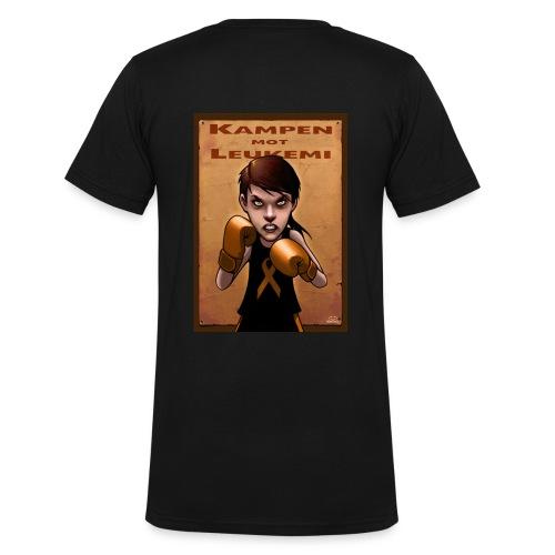 T-shirt herr - Ekologisk T-shirt med V-ringning herr från Stanley & Stella