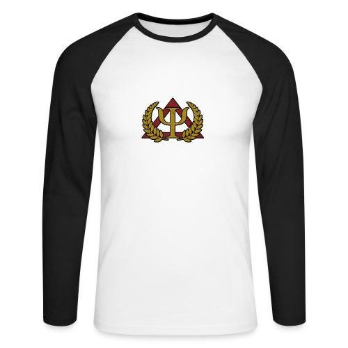 Imperiales Offiziersshirt - Männer Baseballshirt langarm