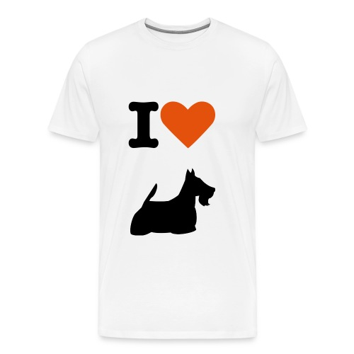 scottishterrier - Männer Premium T-Shirt