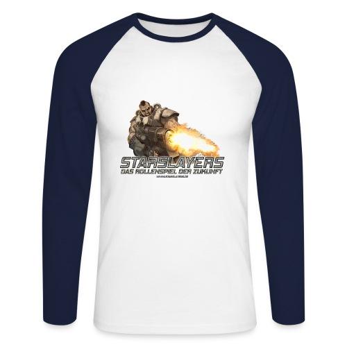Bane Longsleeve - Männer Baseballshirt langarm