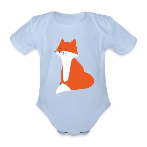 Body Fuchs - Baby Bio-Kurzarm-Body