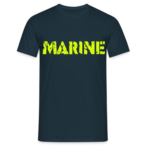 Marine T-shirt - Mannen T-shirt
