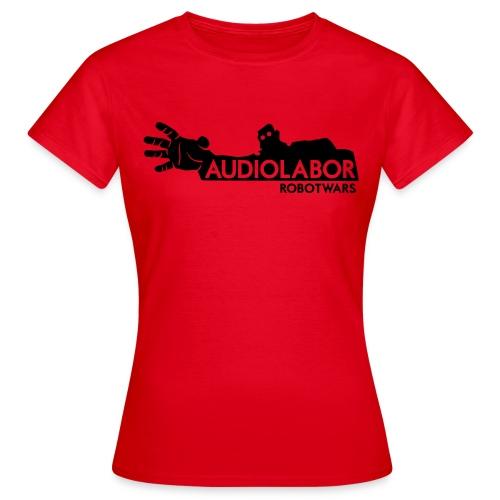Audiolabor Robot Wars Girlie Shirt - Women's T-Shirt
