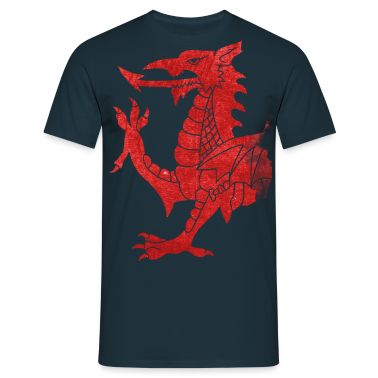 Welsh Dragon Rampant T-Shirts