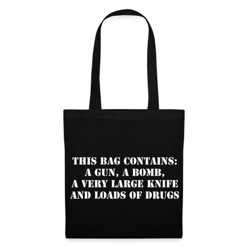 Prohibited items - Perfect Travel Bag - Tote Bag
