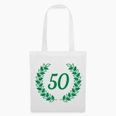 wreath birthday Bags & Backpacks