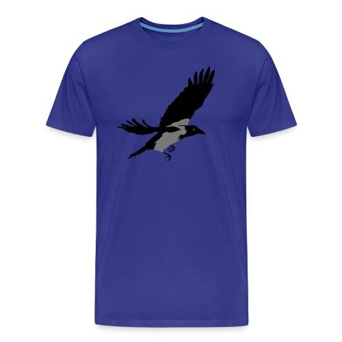 Krähe - Männer Premium T-Shirt