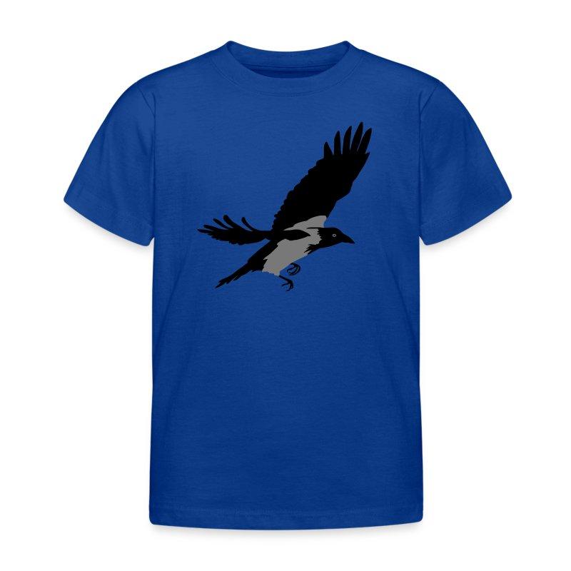 Krähe - Kinder T-Shirt