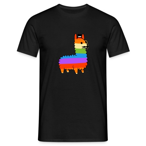 Rainbow Sheep Like a Sir - Men's T-Shirt