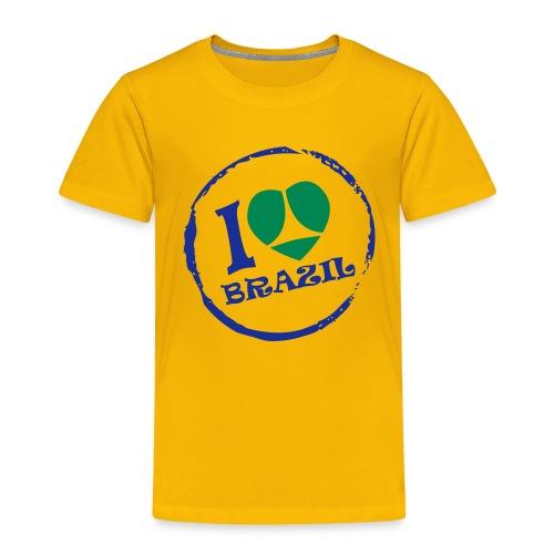 I love Brazil Enfant - T-shirt Premium Enfant