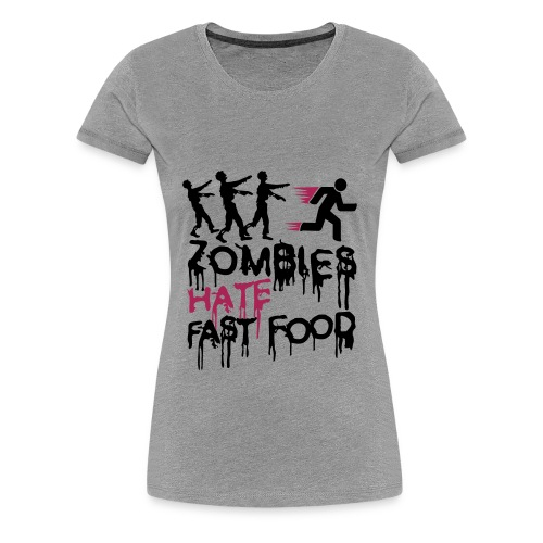 The Zombie Diet - Camiseta premium mujer