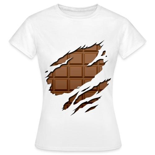 Eat my chocolate bar - Camiseta mujer