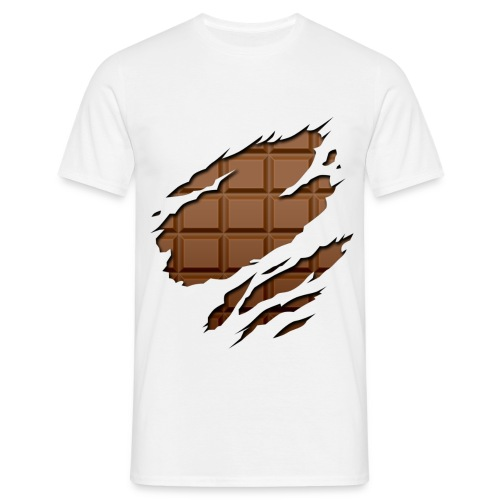 Eat my chocolate bar - Camiseta hombre